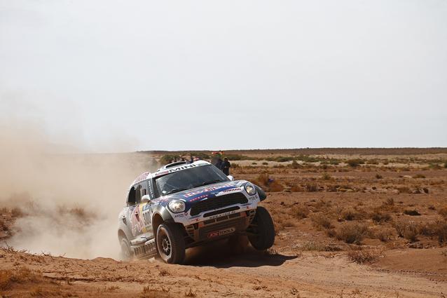 2016 Dakar, Nasser Al-Attiyah (QAT), Mathieu Baumel (FRA), MINI ALL4 Racing - AXION X-raid Team 300 - 08.01.2016