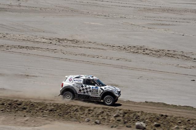 2016 Dakar, Orlando Terranova (ARG), Bernardo Ronnie Graue (ARG), MINI ALL4 Racing - AXION X-raid Team 310 - 08.01.2016