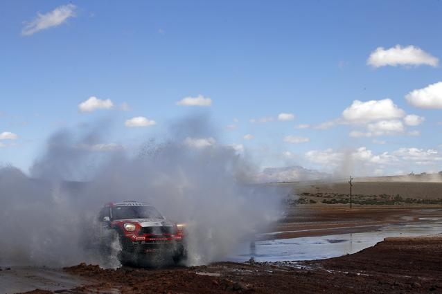 2016 Dakar, Harry Hunt (GBR), Andreas Schulz (GER), MINI ALL4 Racing - X-raid Team 323 - 09.01.2016