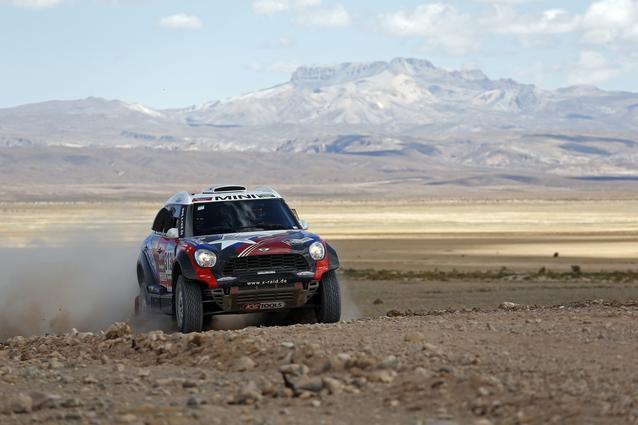 2016 Dakar, Boris Garafulic (CHL), Filipe Palmeiro (POR), MINI ALL4 Racing - X-raid Team 313 - 09.01.2016
