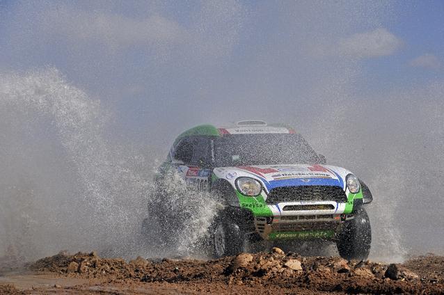 2016 Dakar, Erik van Loon (NDL), Wouter Rosegaar (NDL), MINI ALL4 Racing- Van Loon Racing 306 - 09.01.2016