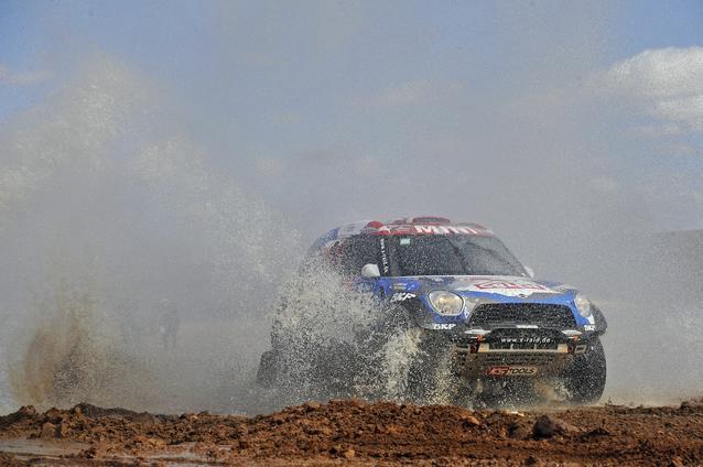 2016 Dakar, Jakub Kuba Przygonski (POL), Andrei Rudnitski (BLR), MINI ALL4 Racing - ORLEN Team 327 - 09.01.2016