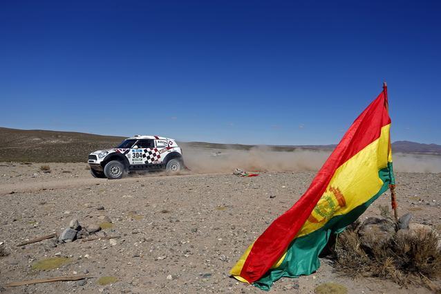 2016 Dakar, Joan Nani Roma (ESP), Alex Haro (ESP), MINI ALL4 Racing - AXION X-raid Team 304 - 09.01.2016