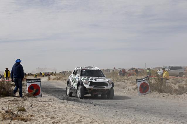 2016 Dakar, Mikko Hirvonen (FIN), Michel Perin (FRA), MINI ALL4 Racing - AXION X-raid Team 315 - 09.01.2016