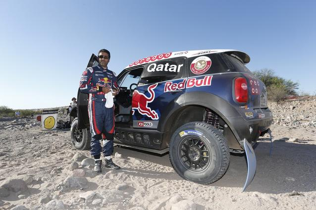 2016 Dakar, Nasser Al-Attiyah (QAT), Mathieu Baumel (FRA), MINI ALL4 Racing - AXION X-raid Team 300 - 13.01.2016
