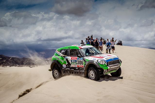 2016 Dakar, Erik van Loon (NDL), Wouter Rosegaar (NDL), MINI ALL4 Racing- Van Loon Racing 306 - 13.01.2016