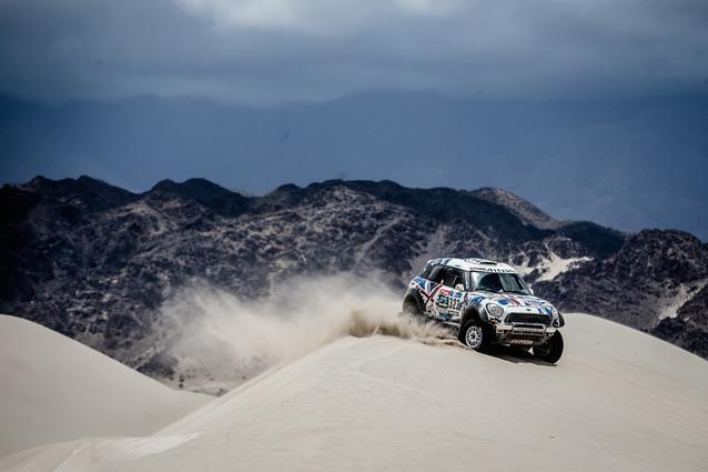 2016 Dakar, Harry Hunt (GBR), Andreas Schulz (GER), MINI ALL4 Racing - X-raid Team 323 - 13.01.2016