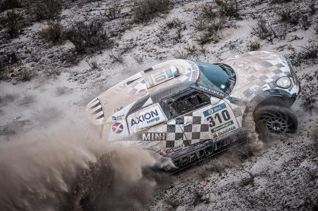 2016 Dakar, Orlando Terranova (ARG), Bernardo Ronnie Graue (ARG), MINI ALL4 Racing - AXION X-raid Team 310 - 13.01.2016