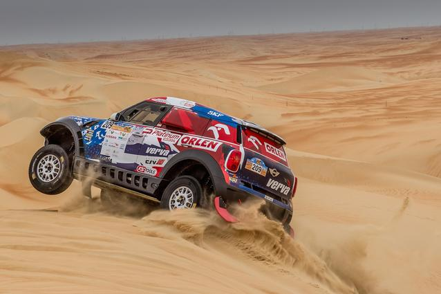 2016 Abu Dhabi Desert Challenge, Jakub Przygonski (POL), Tom Colsoul (BEL) - MINI ALL4 Racing #209 - X-raid Team - 05.04.2016