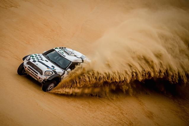 2016 Abu Dhabi Desert Challenge, Mikko Hirvonen (FIN), Michel Perin (FRA) - MINI ALL4 Racing #205 - X-raid Team - 05.04.2016