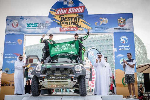 2016 Abu Dhabi Desert Challenge, Yazeed Al Rajhi (KSA), Timo Gottschalk (GER) - MINI ALL4 Racing 204 - X-raid Team - 08.04.2016