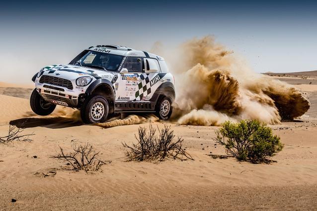 2016 Abu Dhabi Desert Challenge, Mikko Hirvonen (FIN), Michel Perin (FRA) - MINI ALL4 Racing 205 - X-raid Team - 08.04.2016