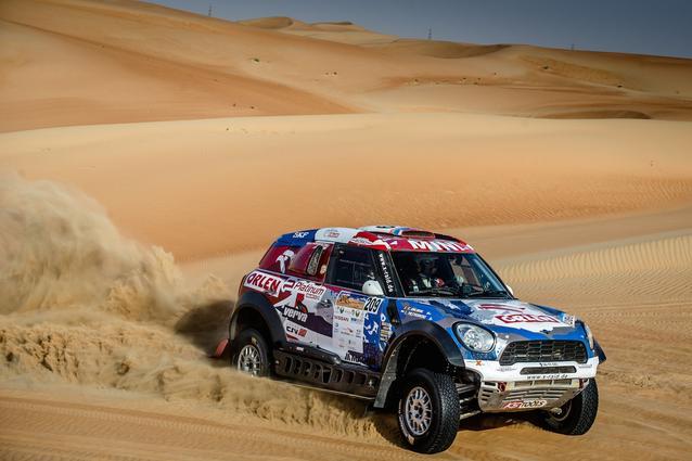 2016 Abu Dhabi Desert Challenge, Jakub Przygonski (POL), Tom Colsoul (BEL) - MINI ALL4 Racing 209 - X-raid Team - 08.04.2016