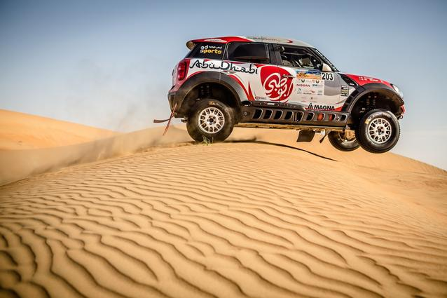 2016 Abu Dhabi Desert Challenge, Sh. Khalid Al Qassimi (ARE), Khalid Al Kendi (ARE) - MINI ALL4 Racing 203 - Abu Dhabi Racing - 08.04.2016