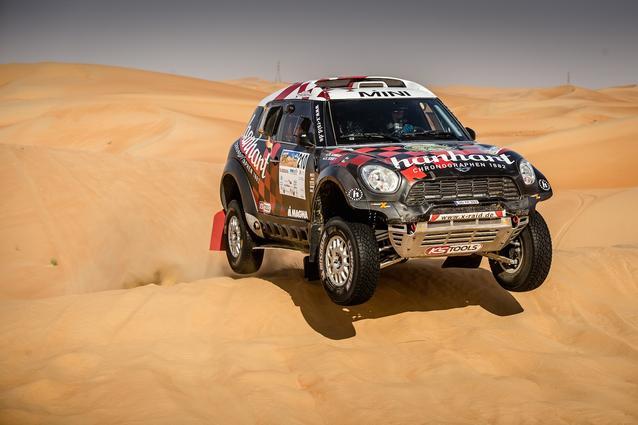 2016 Abu Dhabi Desert Challenge, Stephan Schott (GER), Holm Schmidt (GER) - MINI ALL4 Racing 210 - X-raid Team - 08.04.2016