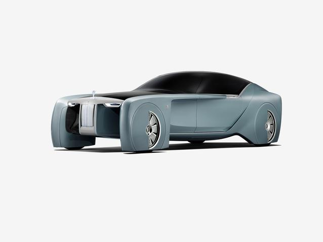 Rolls-Royce VISION NEXT 100 Stand alones (06/2016)