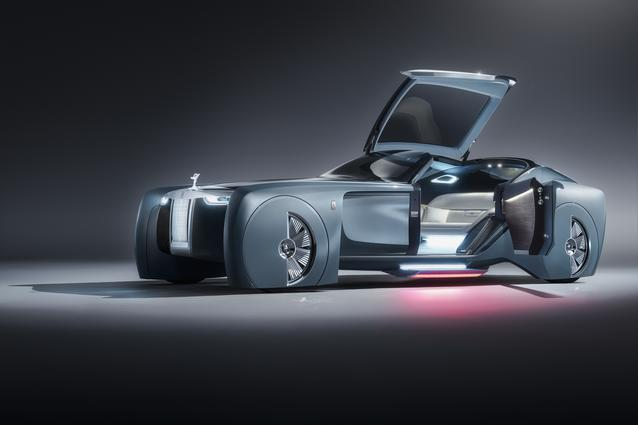 Rolls-Royce VISION NEXT 100 Product photography (06/2016)