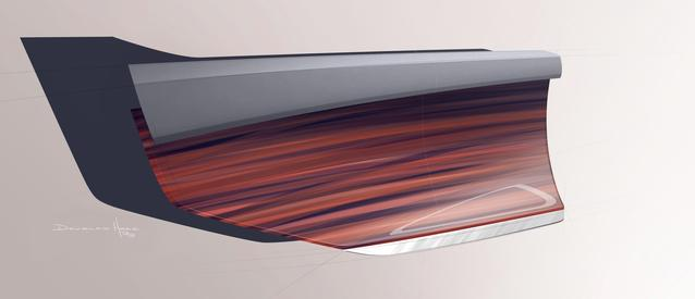Rolls-Royce VISION NEXT 100 Design sketch (06/2016)