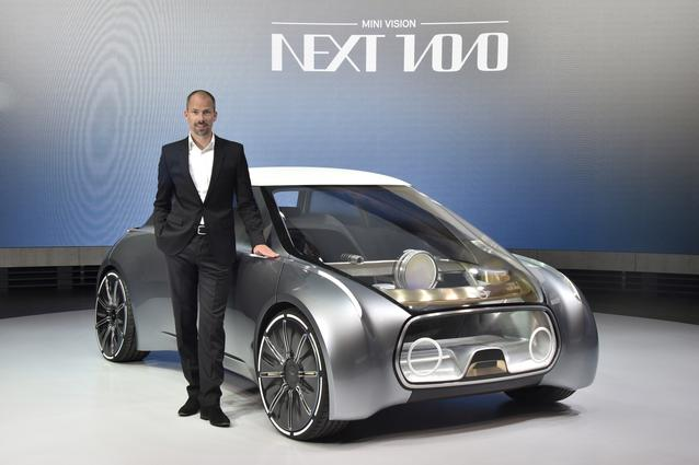 MINI VISION NEXT 100, Anders Warming, BMW Group, Head of Design Studio MINI (06/2016)