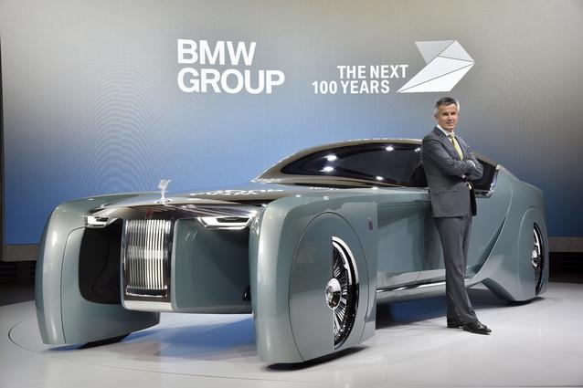 Rolls-Royce VISION NEXT 100, Peter Schwarzenbauer, Member of the Board of Management of BMW AG, MINI, Motorrad, Rolls-Royce, Aftersales (06/2016)
