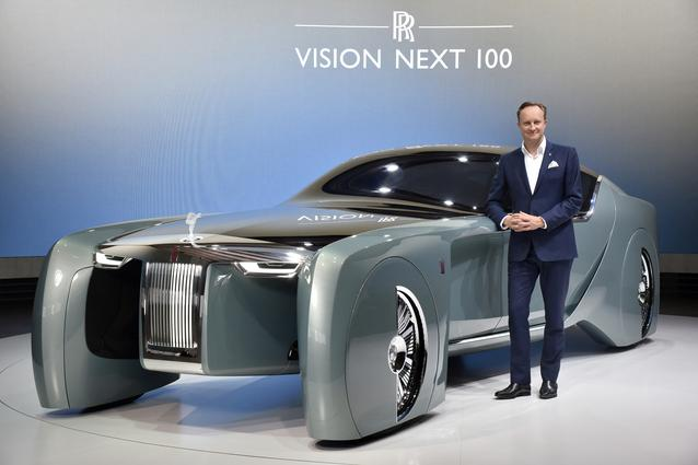 Rolls-Royce VISION NEXT 100, Giles Taylor, Design Director Rolls-Royce Motor Cars (06/2016)