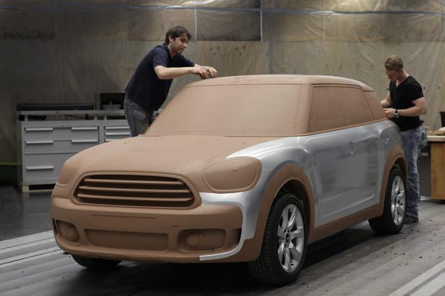 MINI Countryman. Design process (1016)