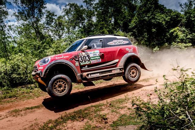 2017 Dakar, Shakedown, Mikko Hirvonen (FIN), Michel Perin (FRA), MINI John Cooper Works Rally - X-raid Team 303 - 30.12.2016