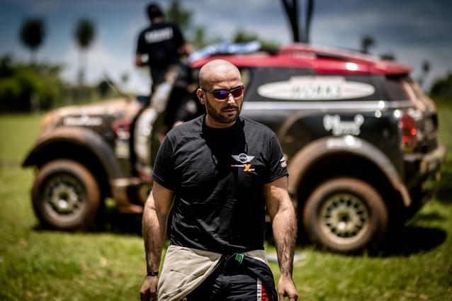 2017 Dakar, Shakedown, Yazeed Al-Rajhi (KSA), portrait, MINI John Cooper Works Rally - X-raid Team 306 - 30.12.2016