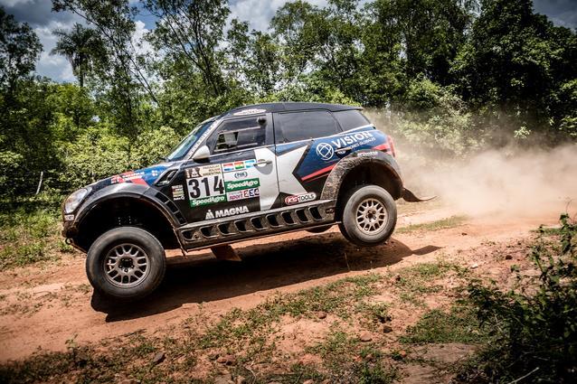 2017 Dakar, Shakedown, Boris Garafulic (CHL), Filipe Palmeiro (POR), MINI ALL4 Racing - X-raid Team 314 - 30.12.2016