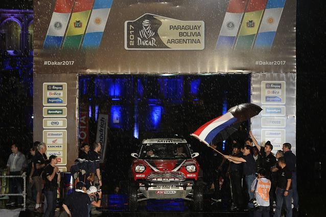 2017 Dakar, Mikko Hirvonen (FIN), Michel Perin (FRA), MINI John Cooper Works Rally - X-raid Team 303 - 02.01.2017