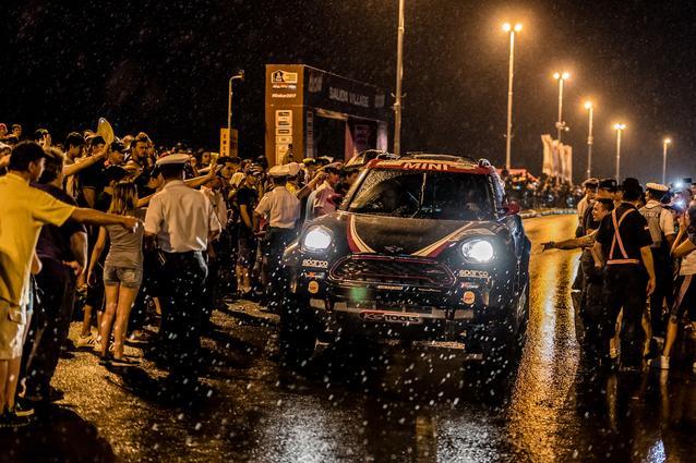 2017 Dakar, Yazeed Al-Rajhi (KSA), Timo Gottschalk (GER), MINI John Cooper Works Rally - X-raid Team 306 - 02.01.2017