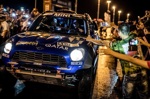 2017 Dakar, Mohamed Abu Issa (QAT), Xavier Panseri (FRA), MINI ALL4 Racing - X-raid Team 322 - 02.01.2017