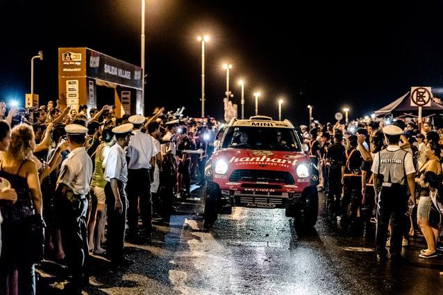 2017 Dakar, Stephan Schott (GER), Paulo Fiuza (POR), MINI ALL4 Racing - X-raid Team 325 - 02.01.2017