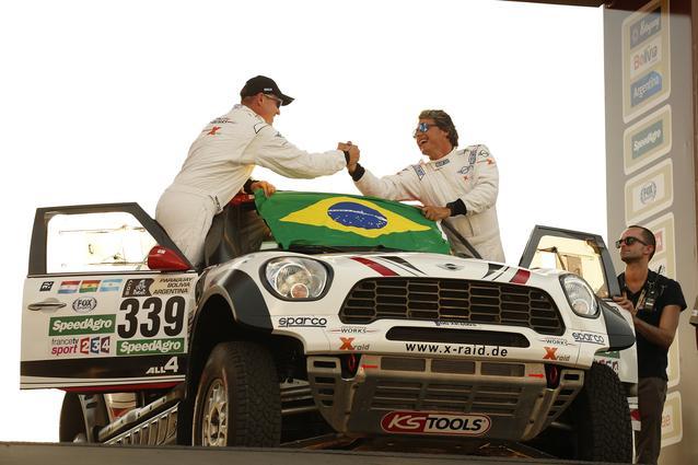 2017 Dakar, Sylvio de Barros (BR), Rafael Capoani (BR), MINI ALL4 Racing - X-raid Team 339 - 02.01.2017