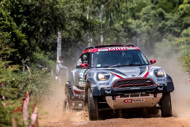 2017 Dakar, Orlando Terranova (ARG), Andreas Schulz (GER), MINI John Cooper Works Rally - X-raid Team 308 - 02.01.2017