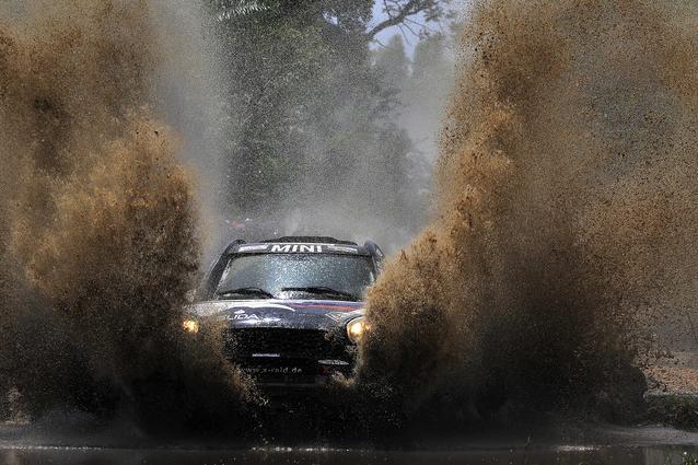 2017 Dakar, Boris Garafulic (CHL), Filipe Palmeiro (POR), MINI ALL4 Racing - X-raid Team 314 - 02.01.2017