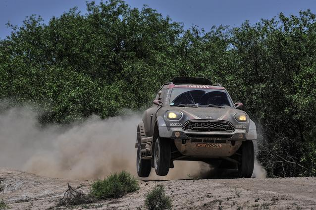 2017 Dakar, Yazeed Al-Rajhi (KSA), Timo Gottschalk (GER), MINI John Cooper Works Rally - X-raid Team 306 - 03.01.2017