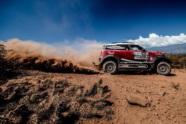 2017 Dakar, Mikko Hirvonen (FIN), Michel Perin (FRA), MINI John Cooper Works Rally - X-raid Team 303 - 04.01.2017