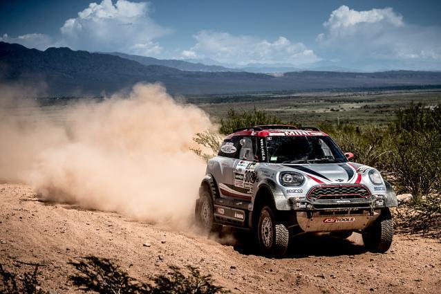2017 Dakar, Orlando Terranova (ARG), Andreas Schulz (GER), MINI John Cooper Works Rally - X-raid Team 308 - 04.01.2017