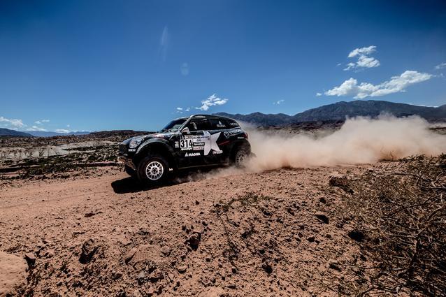 2017 Dakar, Boris Garafulic (CHL), Filipe Palmeiro (POR), MINI ALL4 Racing - X-raid Team 314 - 04.01.2017