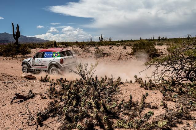 2017 Dakar, Sylvio de Barros (BR), Rafael Capoani (BR), MINI ALL4 Racing - X-raid Team 339 - 04.01.2017