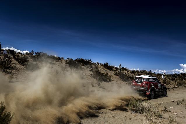 2017 Dakar, Mikko Hirvonen (FIN), Michel Perin (FRA), MINI John Cooper Works Rally - X-raid Team 303 - 05.01.2017