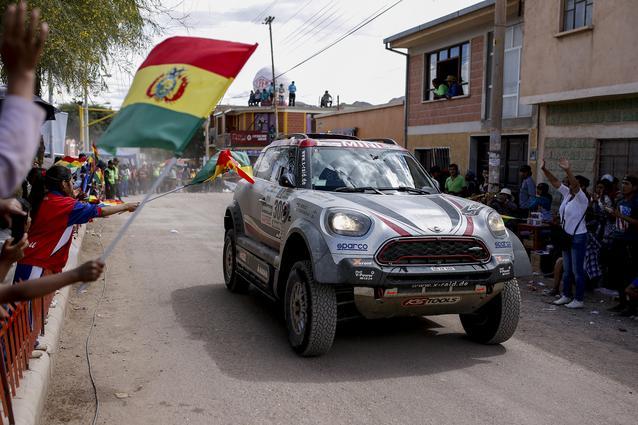 2017 Dakar, Orlando Terranova (ARG), Andreas Schulz (GER), MINI John Cooper Works Rally - X-raid Team 308 - 05.01.2017