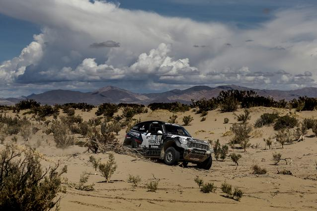 2017 Dakar, Boris Garafulic (CHL), Filipe Palmeiro (POR), MINI ALL4 Racing - X-raid Team 314 - 05.01.2017