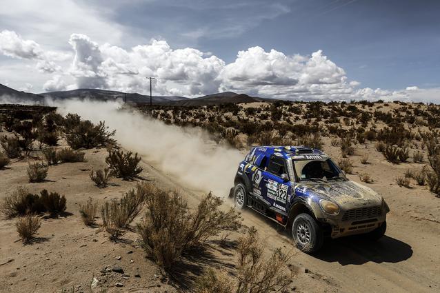 2017 Dakar, Mohamed Abu Issa (QAT), Xavier Panseri (FRA), MINI ALL4 Racing - X-raid Team 322 - 05.01.2017