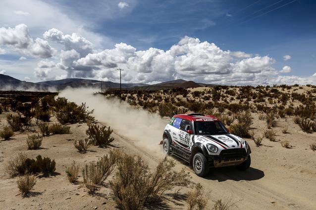 2017 Dakar, Sylvio de Barros (BR), Rafael Capoani (BR), MINI ALL4 Racing - X-raid Team 339 - 05.01.2017