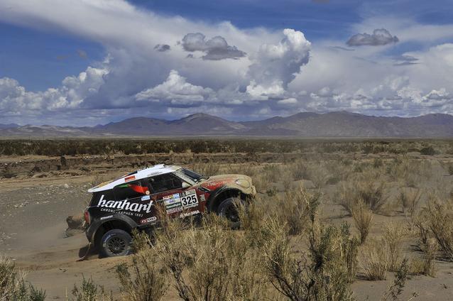 2017 Dakar, Stephan Schott (GER), Paulo Fiuza (POR), MINI ALL4 Racing - X-raid Team 325 - 05.01.2017