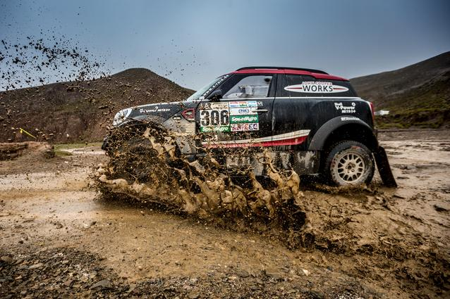 2017 Dakar, Yazeed Al-Rajhi (KSA), Timo Gottschalk (GER), MINI John Cooper Works Rally - X-raid Team 306 - 06.01.17
