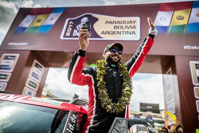 2017 Dakar, Yazeed Al-Rajhi (KSA), MINI John Cooper Works Rally - X-raid Team 306 - 06.01.17