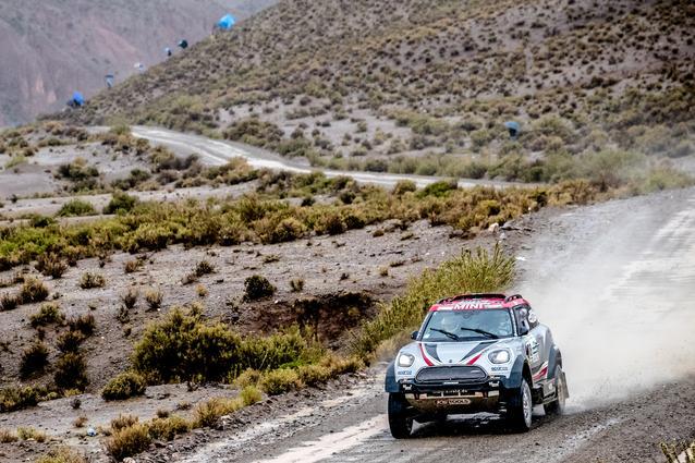 2017 Dakar, Orlando Terranova (ARG), Andreas Schulz (GER), MINI John Cooper Works Rally - X-raid Team 308 - 06.01.2017